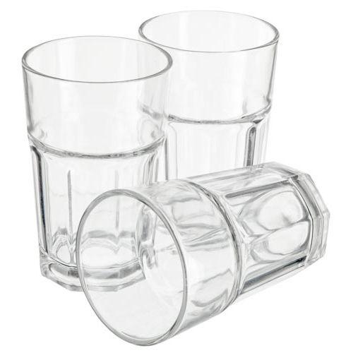 American Soda Glass 3 Pack