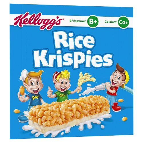 KELLOGGS RICE KRISPIES SQUARES CHOCOLATE 4 PACK