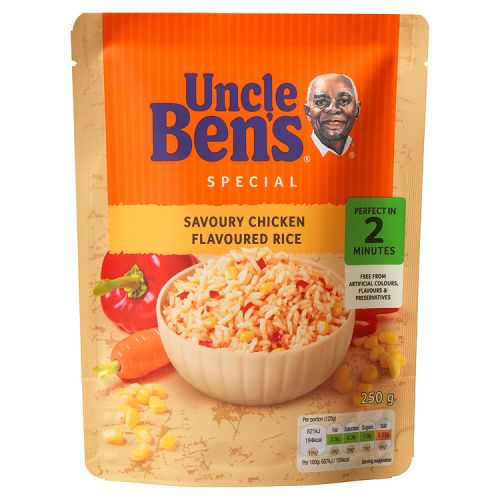 Uncle Ben's Express Savoury Chicken Rice 250g