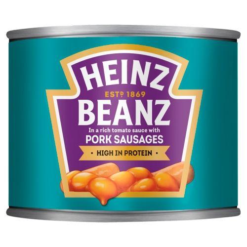 Heinz Beanz With Pork Sausages 200g
