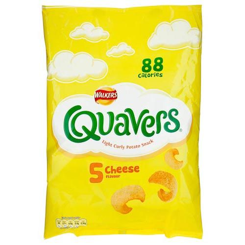 Walkers Quavers Cheese Snacks 5x16g