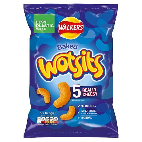 Walkers Wotsits Really Cheesy 5 Pack