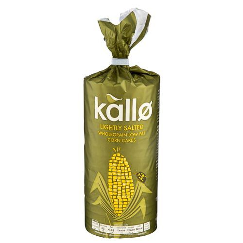 Kallo Corn Cakes 130g