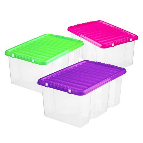 STORAGE BOX WITH LID 7 LITRES