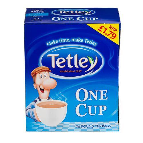 TETLEY 1 CUP 76 PACK