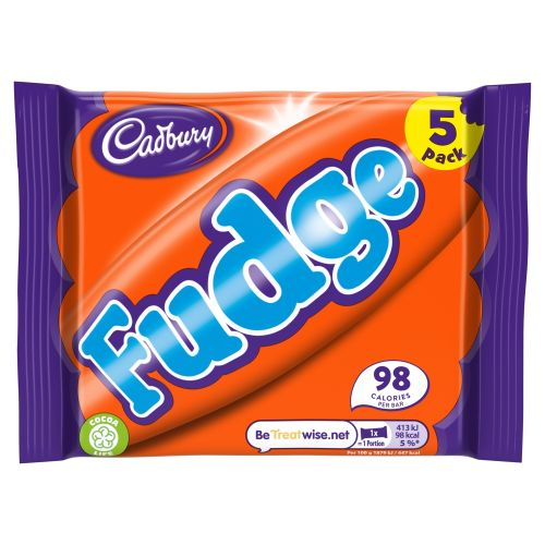Cadbury Fudge 5x22g