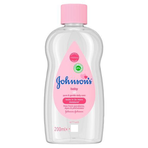 Johnsons Baby Oil 200ml