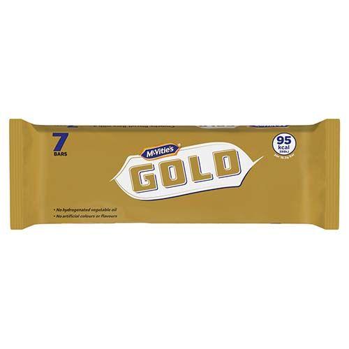 McVities Gold Bar 99 Cal 7x18.34g