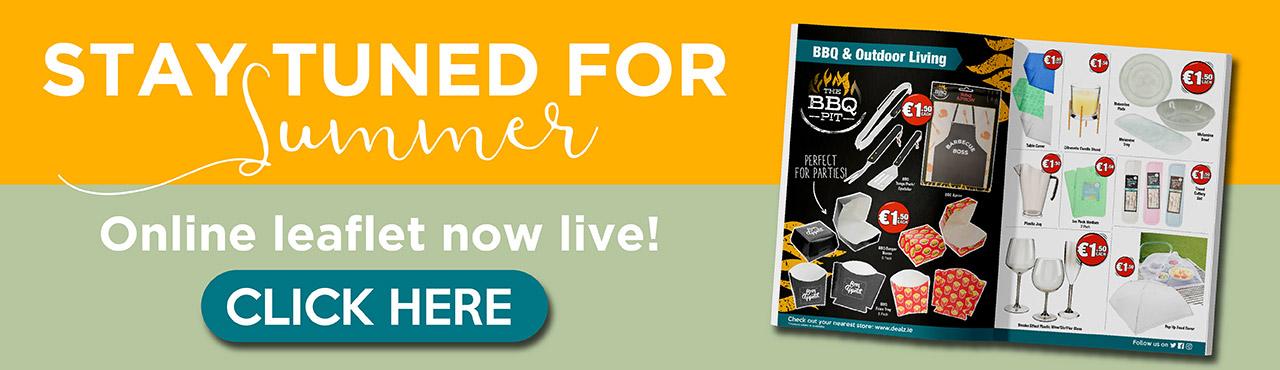 New Dealz Summer Leaflet