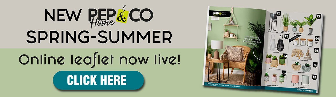 New PEP&CO Home Spring-Summer Leaflet