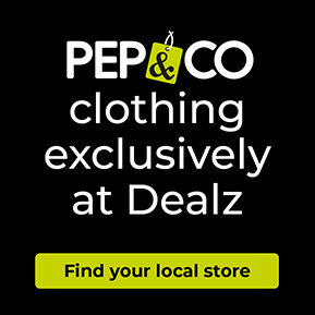 PEP&CO Clothing Exclusively at Dealz