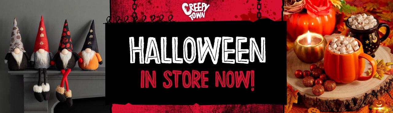 Halloween in store now