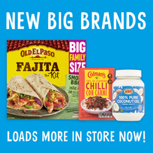 New big brands in-store now